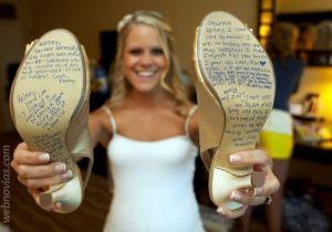 Zapatos firmados boda