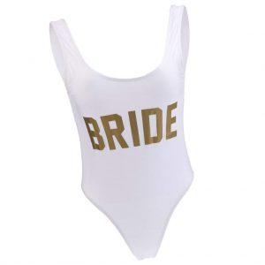 Bañador bride blanco