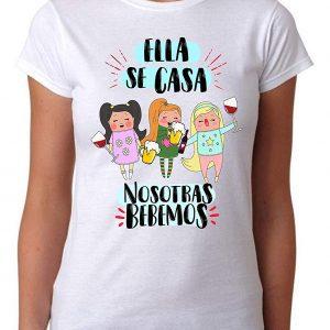 Camiseta Ella Se Casa