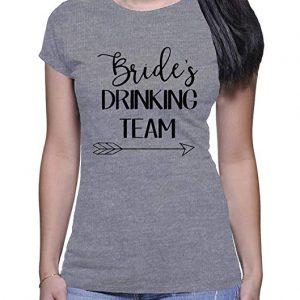 Camiseta Bride Drinking Team