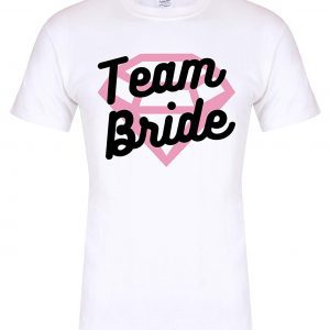 Camiseta team bride superman
