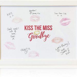 Cuadro recuerdo besos amigas