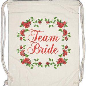 Mochila Team Bride blanca