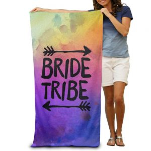Toalla multicolor Bride Tribe