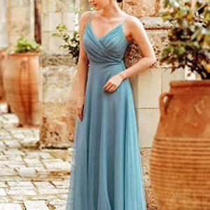 Vestido dama azul
