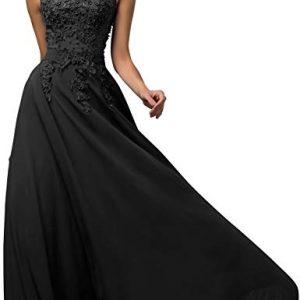 Vestido Dama de Honor negro