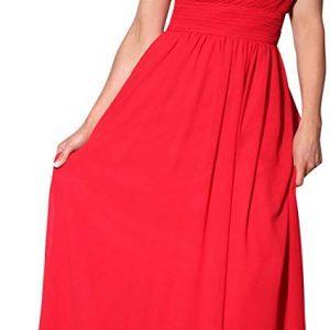 Vestido Dama de Honor rojo