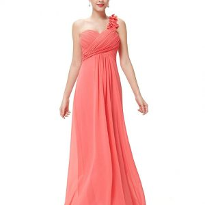 Vestido Dama de Honor coral