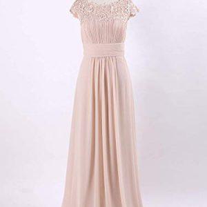 Vestido Dama de Honor rosa palo