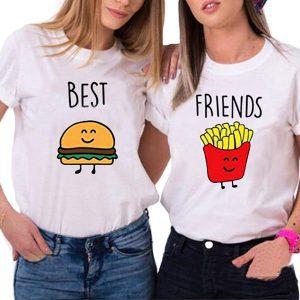 Camiseta mejores amigas