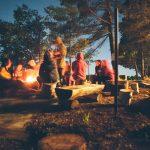 Despedida de soltera en Camping