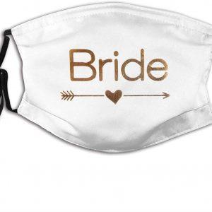 Mascarilla blanca Bride